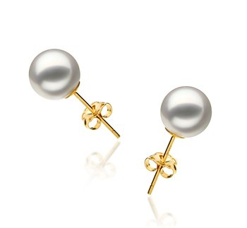 hanadama pearls earrings