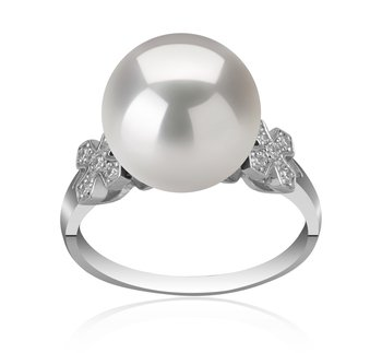 white edison pearl ring