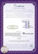 product certificate: UK-FW-W-AAA-556-S