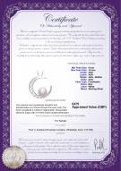 product certificate: UK-FW-W-AAA-910-P-Moon