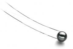 10-11mm AA Quality Tahitian Cultured Pearl Pendant in Kristine Black