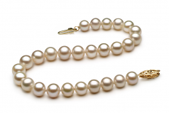 6-7mm AA Quality Freshwater Cultured Pearl Bracelet in White