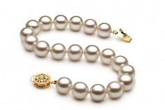8.5-9mm AAA Quality Japanese Akoya Cultured Pearl Bracelet in White