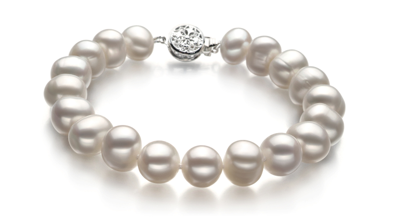 Kaitlyn White 8-9mm A Quality Freshwater Pearl Set