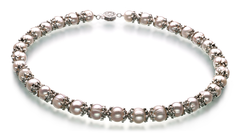 MarieAnt White 8-9mm A Quality Freshwater Pearl Set