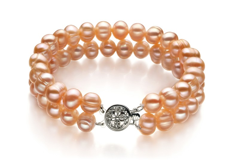 Pink 6-7mm A Quality Freshwater Pearl Set