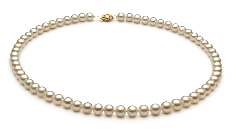 White 6-7mm AA Quality Freshwater Pearl Set