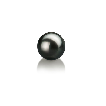 Black 6-7mm AA Quality Japanese Akoya Cultured Pearl Loose Pearl