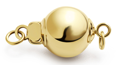 Ball - 14k Yellow Gold