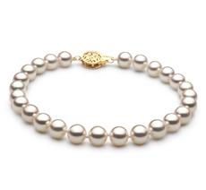 6.5-7mm Hanadama - AAAA Quality Japanese Akoya Cultured Pearl Bracelet in Hanadama 7.5-inch White