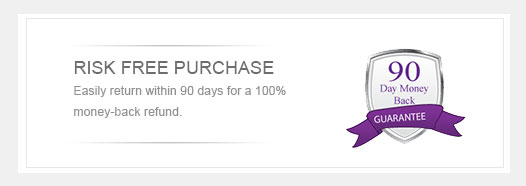8 Reasons to buy from Us - Risk free purchase