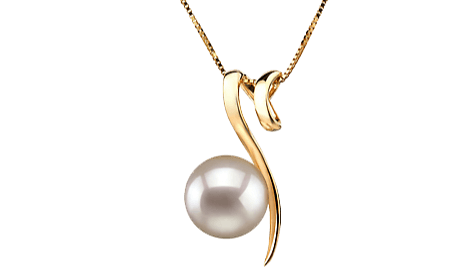 White Japanese Akoya Pearl Pendants