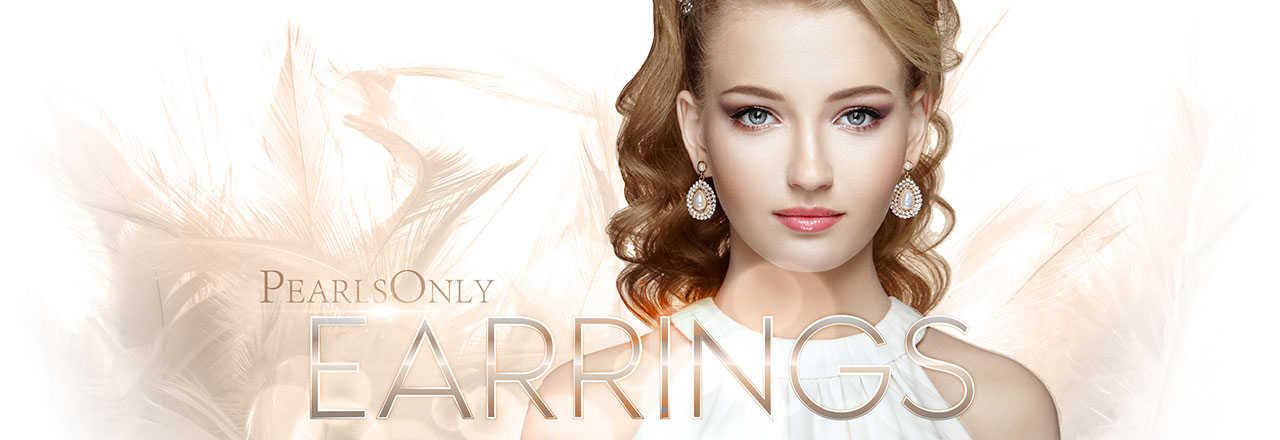 Landing banner for Pearl Earrings
