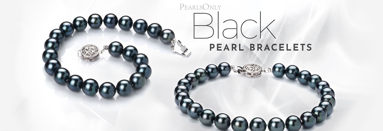 Landing banner for Black Pearl Bracelets