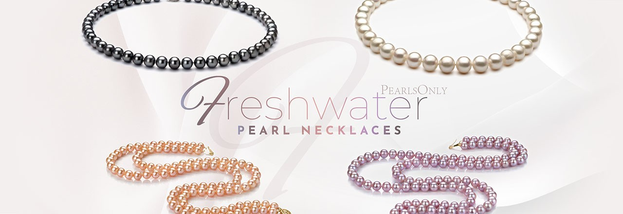 Landing banner for Freshwater Pearl Necklace