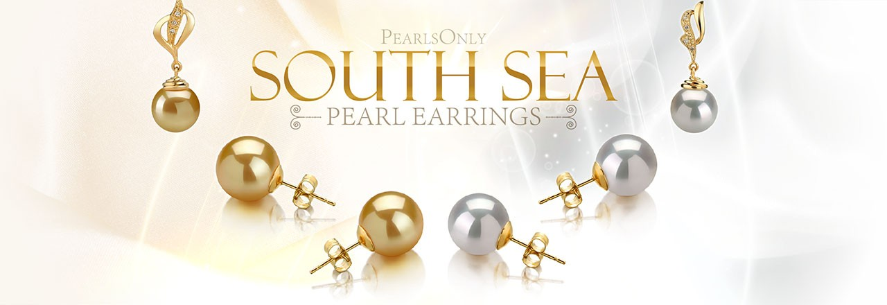 Landing banner for South Sea Pearl Earrings