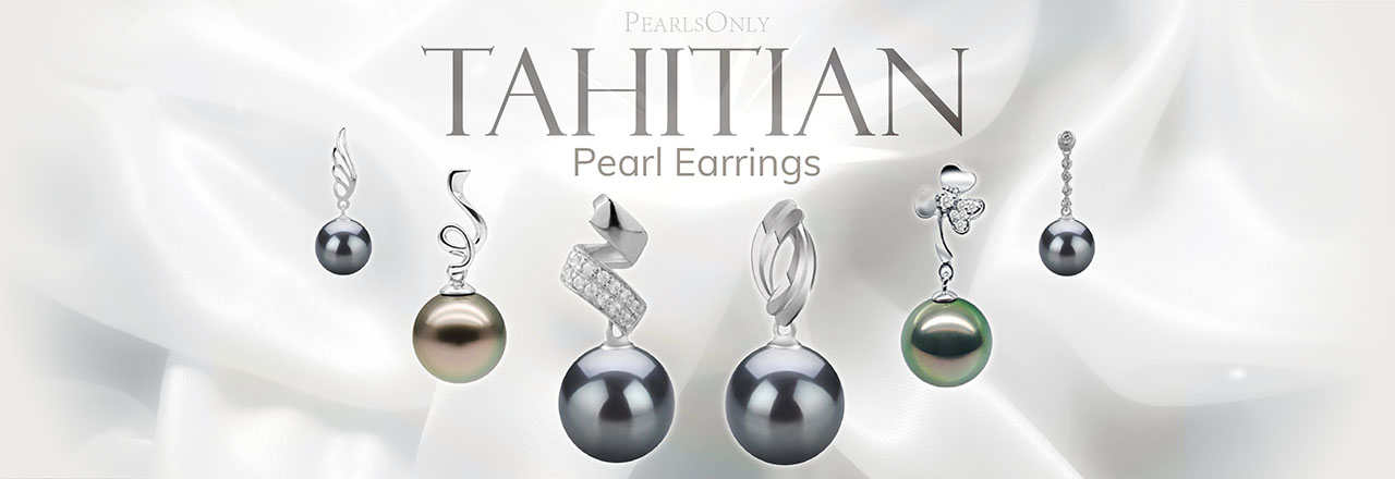 PearlsOnly Tahitian Earrings