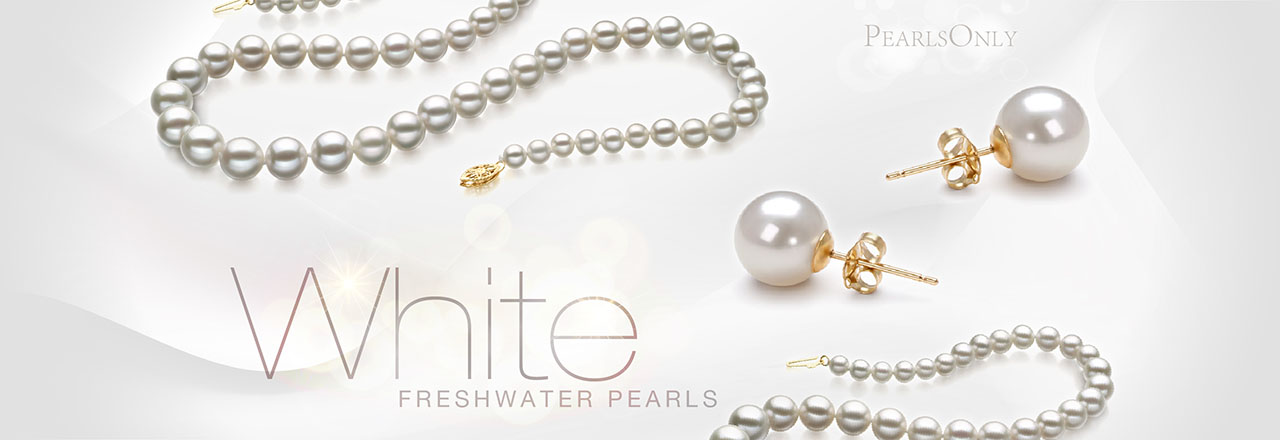 PearlsOnly White Freshwater Pearls