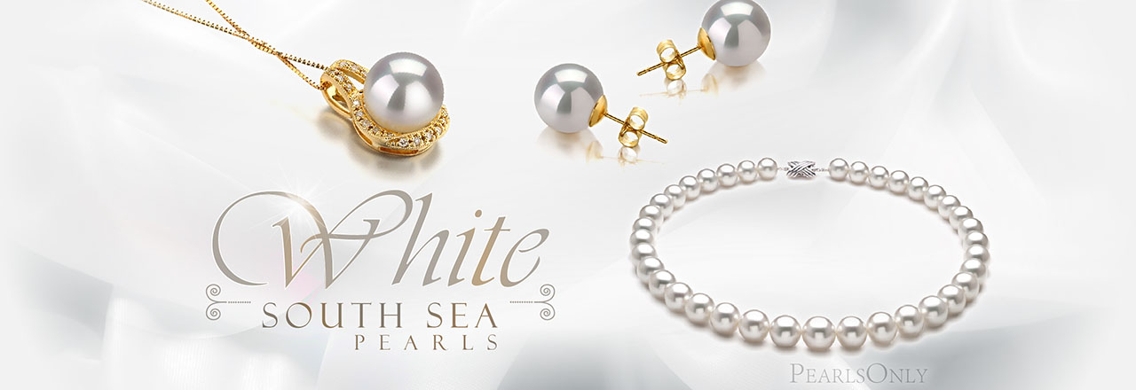 Landing banner for White South Sea Pearls