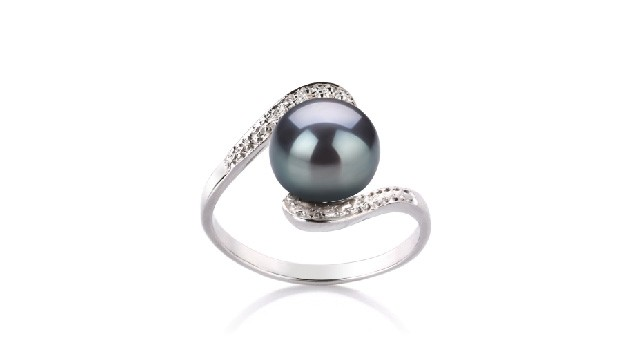 View Black Freshwater Pearl Rings collection