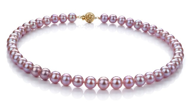 View Lavender Pearl Necklaces collection